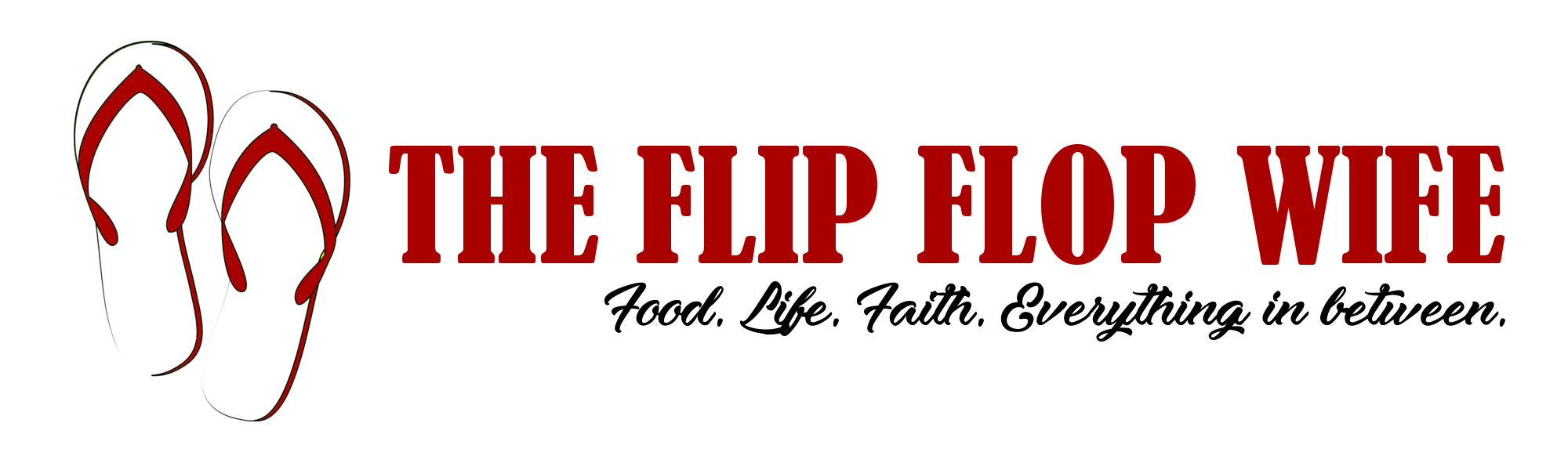 The Flip Flop Wife Logo